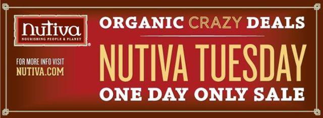 nutiva one day sale