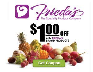Frieda's coupon